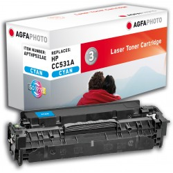 APTHP531AE CC531A AgfaPhoto Toner Cyan