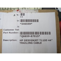 "Q6659-67015 TRAILING  CABLE HP DESIGNJET T1100.T610 44""-RFB"