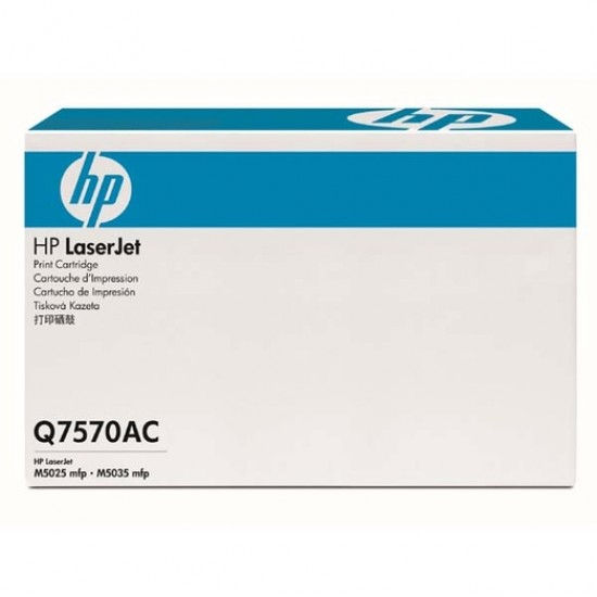Q7570AC  HP 70A BLACK LASERJET TONER CARTRIGE CONTRACT 15K